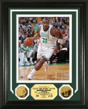 Glen Big Baby Davis 24KT Gold Coin Photo Mint
