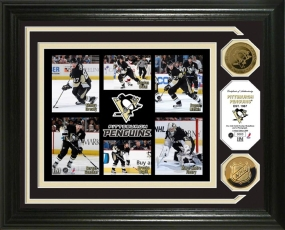 Pittsburgh Penguins 24KT Gold Coin Photo Mint