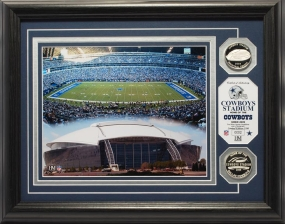 Cowboys Stadium Silver Coin Photo Mint