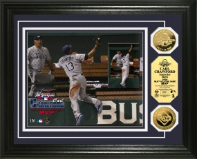 Carl Crawford 2009 All Star Game MVP 24KT Gold Coin Photo Mint