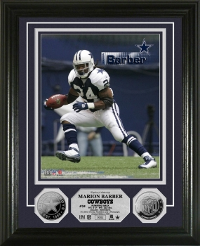 Marion Barber Silver Coin Photo Mint