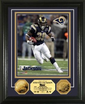 Steven Jackson 24KT Gold Coin Photo Mint