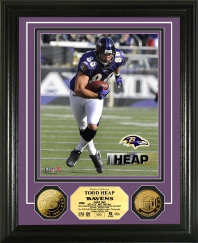 Todd Heap 24KT Gold Coin Photo Mint