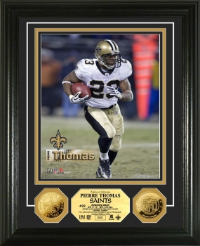 Pierre Thomas 24KT Gold Coin Photo Mint