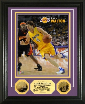 Luke Walton 24KT Gold Coin Photo Mint