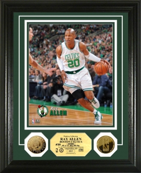 Ray Allen 24KT Gold Coin  Photo Mint