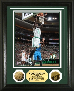 Kevin Garnett 24KT Gold Coin  Photo Mint
