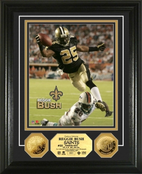"Reggie Bush ""Touchdown"" 24KT Gold Coin  Photo Mint"