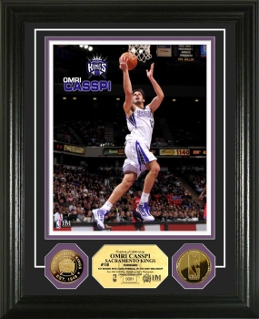 Omri Casspi 24Kt Gold Coin Photo Mint