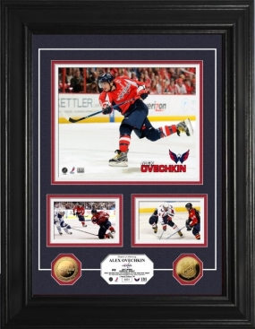 Alexander Ovechkin 24KT Gold Coin Marquee Photo Mint