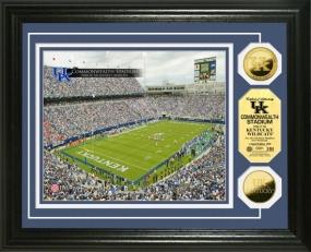 University of Kentucky Commonwealth Stadium 24KT Gold Coin Photomint