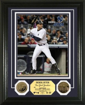 Derek Jeter 24KT Gold Coin Photo Mint