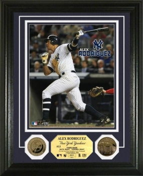 Alex Rodriguez 24KT Gold Coin Photo Mint