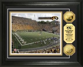 University of Missouri Faurot Stadium 24KT Gold Coin Photomint