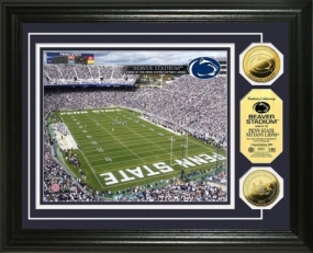 Penn State University Beaver Stadium 24KT Gold Coin Photomint