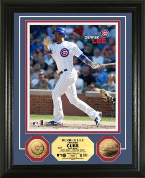 Derrek Lee 24KT Gold Coin Photo Mint
