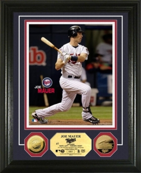 Joe Mauer 24KT Gold Coin Photo Mint