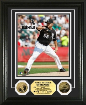 Mark Buehrle 24KT Gold Coin Photo Mint