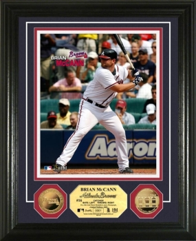 Brian McCann 24KT Gold Coin Photo Mint