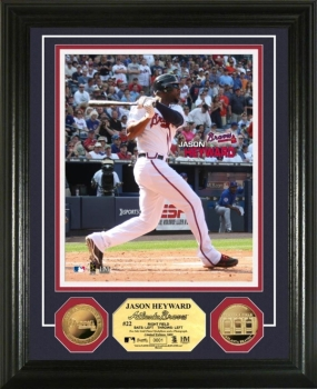Jason Heyward 24KT Gold Coin Photo Mint