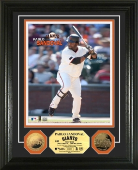 Pablo Sandoval 24KT Gold Coin Photo Mint