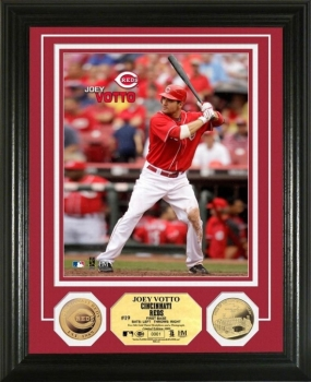 Joey Votto 24KT Gold Coin Photo Mint