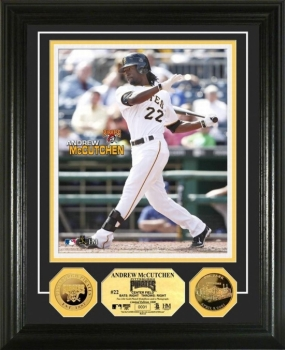 Andrew McCutchen 24KT Gold Coin Photo Mint