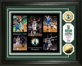 Boston Celtics 2010 Eastern Conference Champions Celebration 24KT Gold Coin Photo Mint