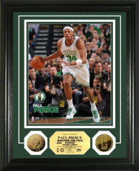 Paul Pierce 24KT Gold Coin Photo Mint