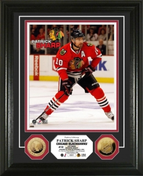 Patrick Sharp 24KT Gold Coin Photo Mint