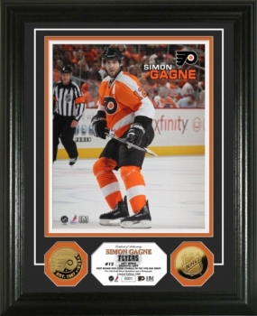 Simon Gagne 24KT Gold Coin Photo Mint