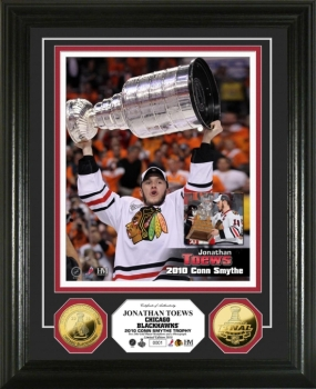 Chicago Blackhawks 2010 Stanley Cup MVP 24KT Gold Coin Photo Mint