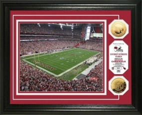 University of Phoenix Stadium 24KT Gold Coin Photo Mint