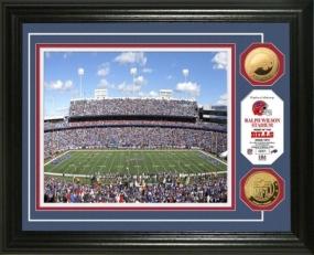 Ralph Wilson Stadium 24KT Gold Coin Photo Mint