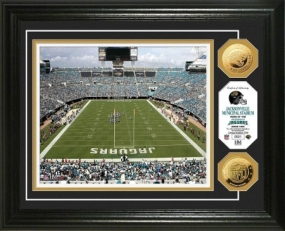 Jacksonville Municipal Stadium 24KT Gold Coin Photo Mint