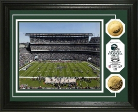 Lincoln Financial Field 24KT Gold Coin Photo Mint