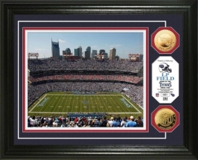 LP Field 24KT Gold Coin Photo Mint