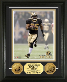 Reggie Bush 24KT Gold Coin Photo Mint