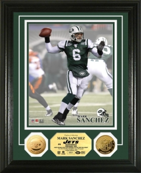 Mark Sanchez 24KT Gold Coin Photo Mint
