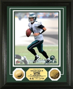 Kevin Kolb 24KT Gold Coin Photo Mint