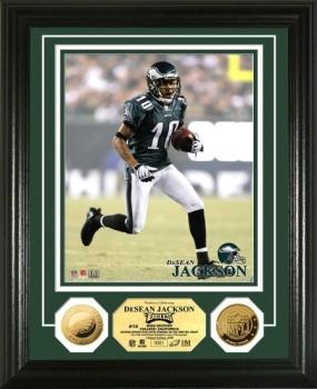 DeSean Jackson 24KT Gold Coin Photo Mint