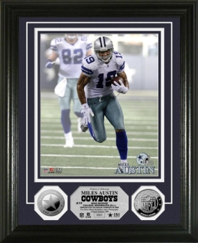 Miles Austin Silver Coin Photo Mint