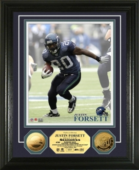 Justin Forsett 24KT Gold Coin Photo Mint