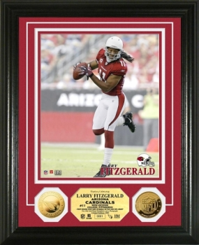 Larry Fitzgerald 24KT Gold Coin Photo Mint