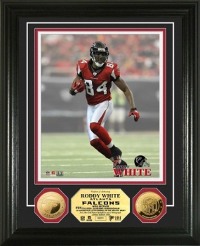 Roddy White 24KT Gold Coin Photo Mint