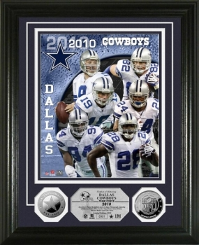 Dallas Cowboys Team Force Silver Coin Photo Mint