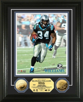 DeAngelo Williams 24KT Gold Coin Photo Mint