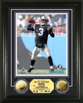 Matt Moore 24KT Gold Coin Photo Mint