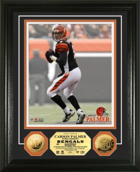Carson Palmer 24KT Gold Coin Photo Mint