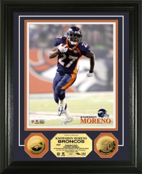 Knowshon Moreno 24KT Gold Coin Photo Mint